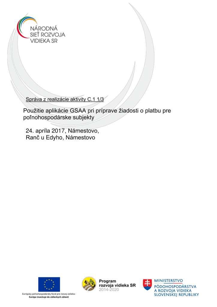 Správa C 1 1-3 ZA-1