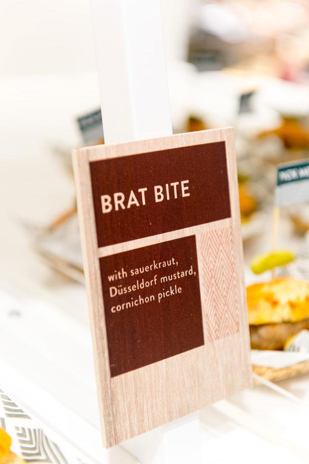 brat bite appetizers