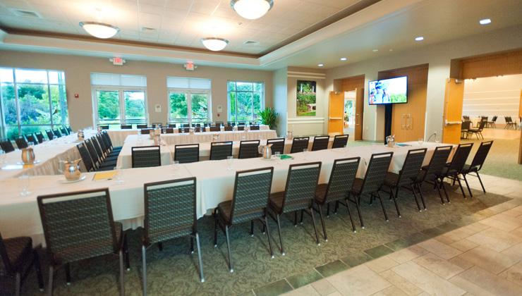 Boerner Botanical Garden meeting room