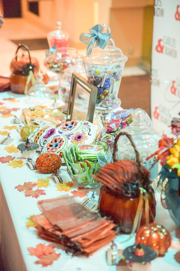 Sweets and Treats with Dia de los Muertos Themed