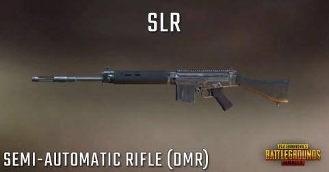 سلاح بندقة لعبة ببجي Slr