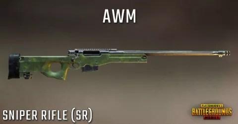 قناصة Awm لعبة ببجي pubg mobile