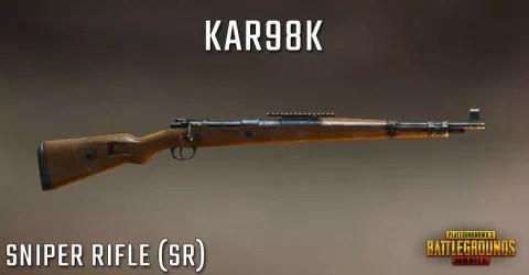 قناصة لعبة ببجي Kar98k