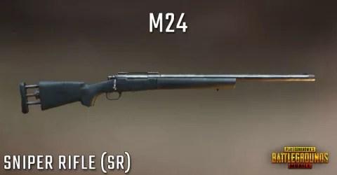 سلاح قناصة لعبة ببجي M24