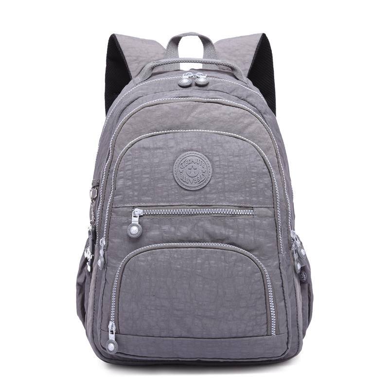 ... Mochila Feminina Escolar  Nylon Waterproof Backpacks  Backpack Women  2018  TGT0712989 1368 1377 075ddb7df454c