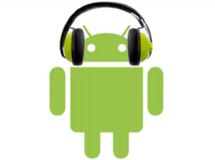 music on android