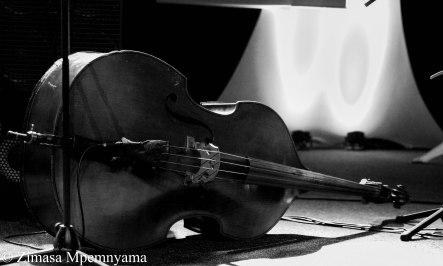 Herbie Tsoaeli's double bass