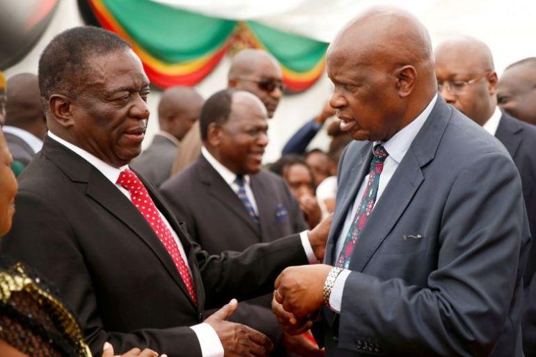 Zimbabwe swears in first post-Mugabe Cabinet