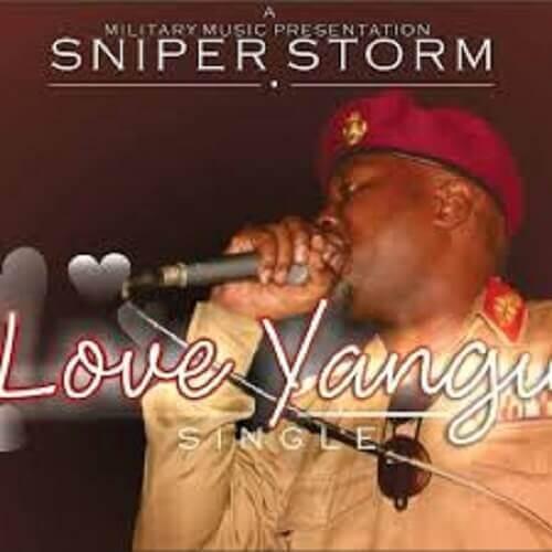 sniper storm love yangu