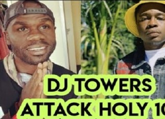 watch video dj towers attacking holy ten haana mari