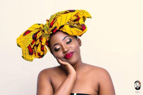 SoulDeep - zimbabwean artist wearing a headwrap