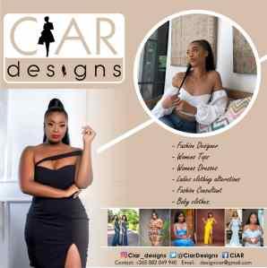 Cecilia Bamusi - Ciar Designs