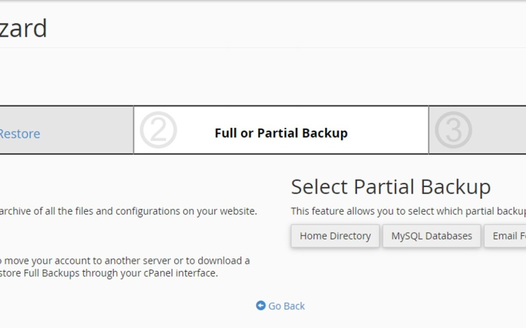 Learn how to backup your website in cpanel
