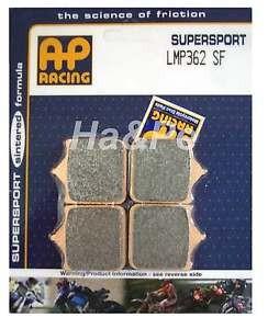 Pastilhas de freio AP Racing Husqvarna SM 510R dianteira