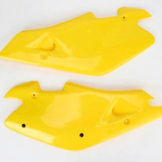 Tampas laterais do banco Ufo amarela WR 250-360 00-01