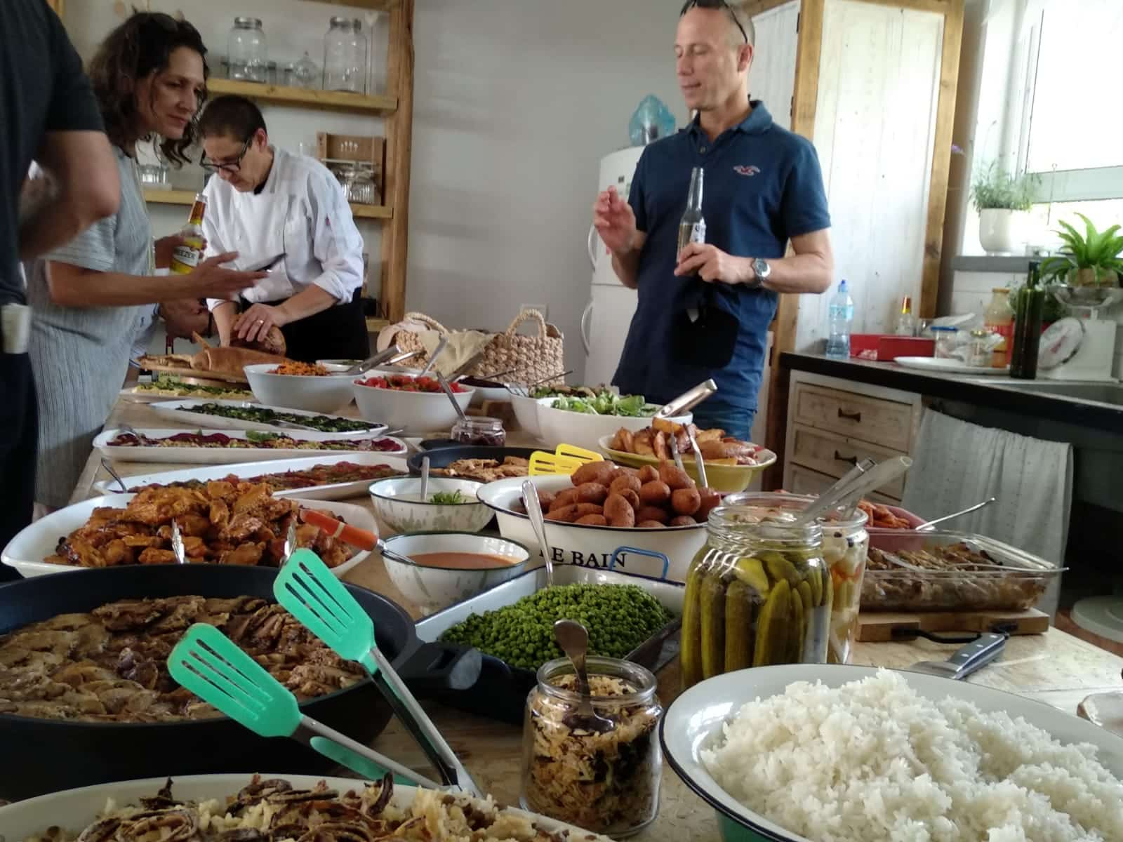 קייטרינג שוש בגולן ואוכל מוכן בהזמנה במטבח הממוקם במושב נוב.