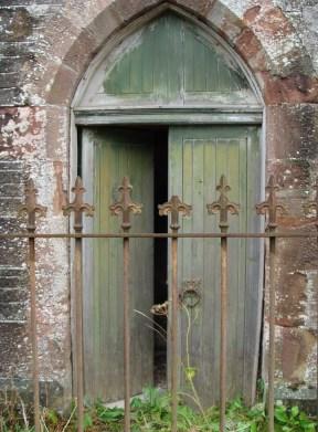 Abandoned church, Kirkmichael, Perthshire, Scotland. The shot I took. Su Leslie 2013
