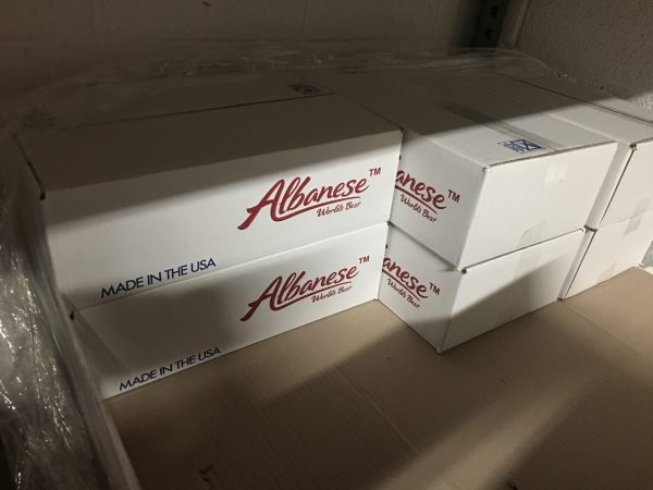 Pallet of Albanese Gummy Worms