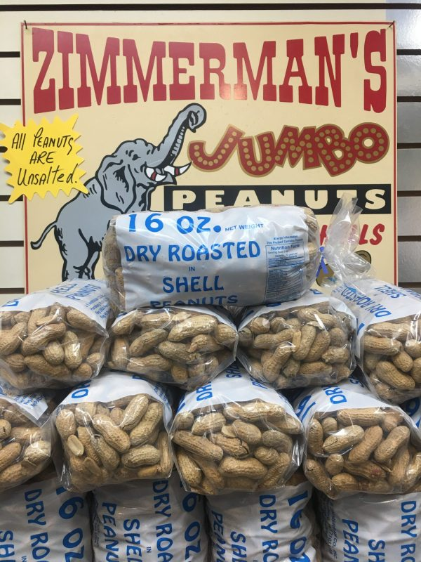 1lb In Shell Roasted Jumbo Peanuts