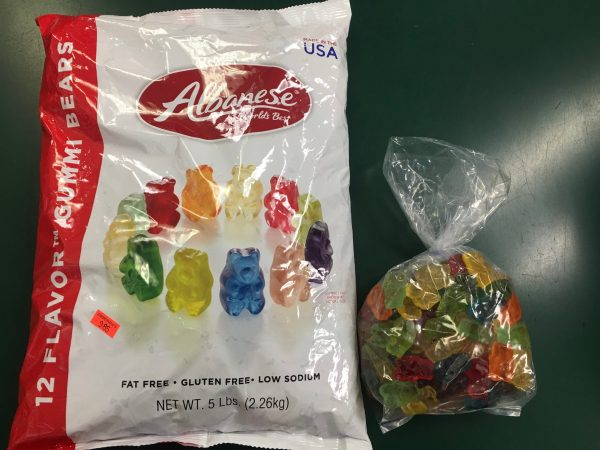 Albanese Bear 5lb Bag and 1lb Bag