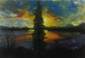 Sunrise in Big Lake