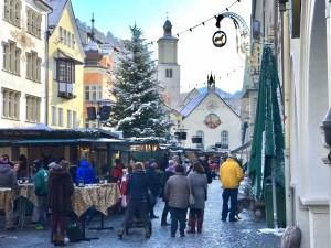Year in Vorarlburg Christmas Market