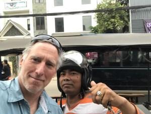 Phenom Phen Tuk Tuk Driver