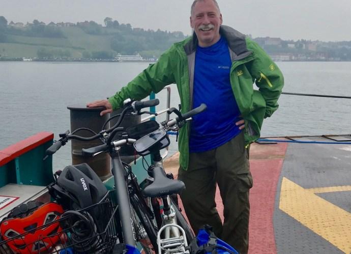 Biking around the Bodensee