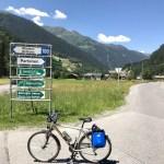 Biking in the 'berg