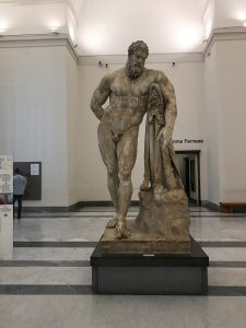 Hercules in the National Archeological Museum