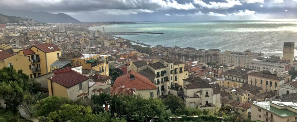 Salerno from above