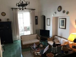 Villa Donzelli Living Room Relaxing in in Sferracavallo Italy