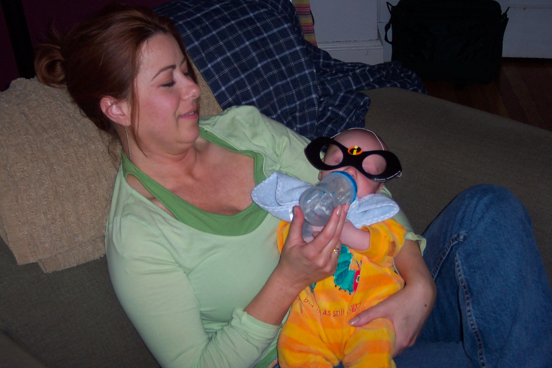IncrediBurke (with Aunt Lynn)