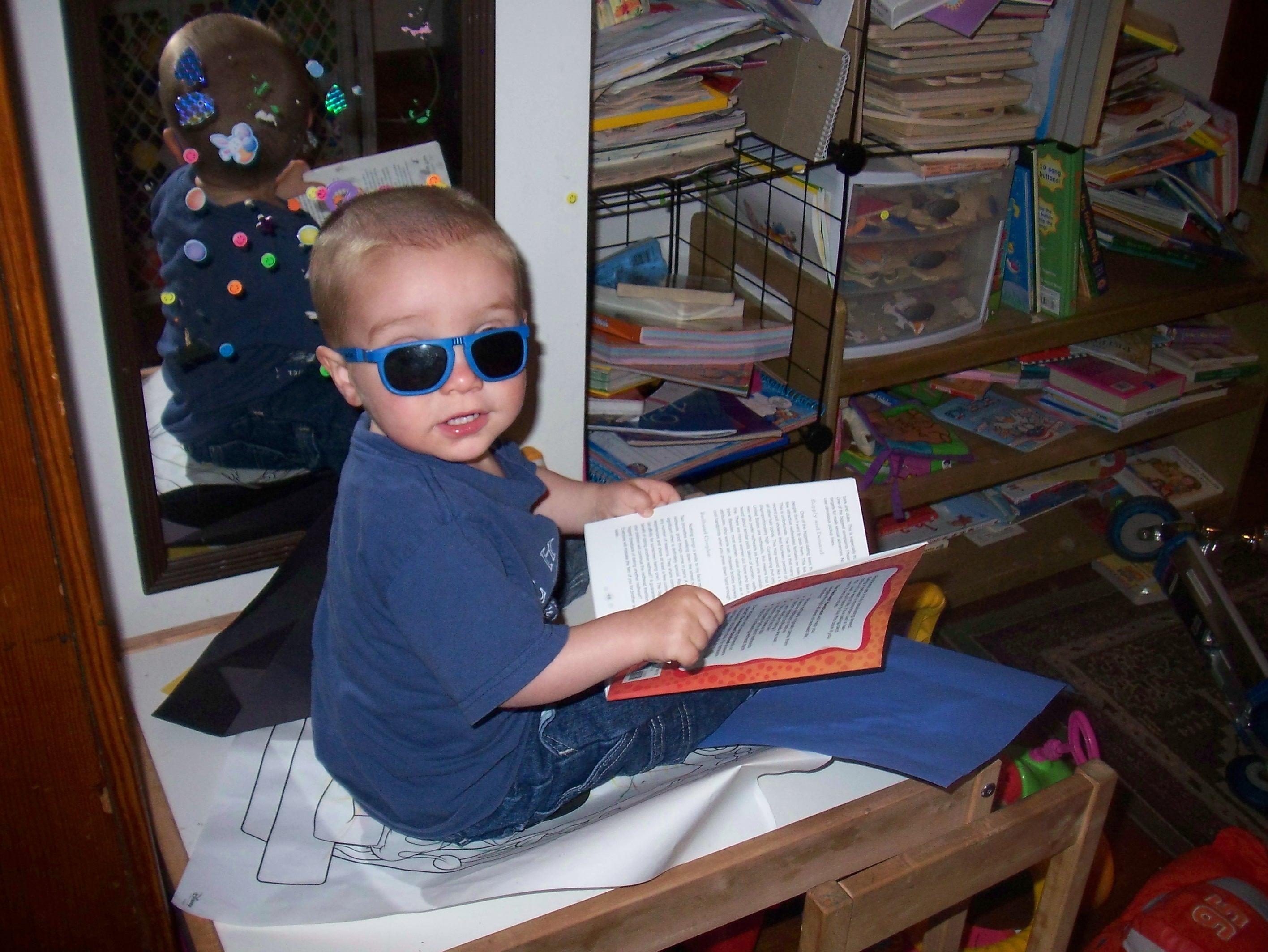 ...Even Cooler (cuz he's reading!)