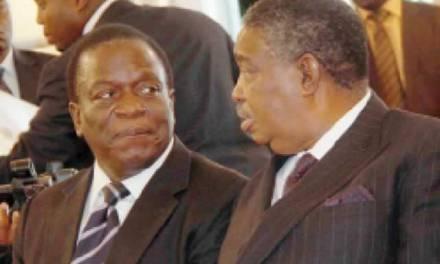 Mphoko plots Mnangagwa ouster?