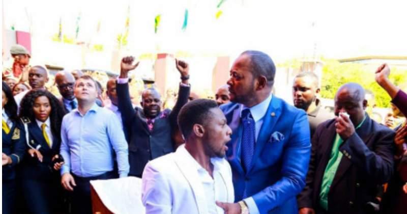 Watch:Pastor Mboro prays outside pastor Lukau's church 'God forgive false prophets'