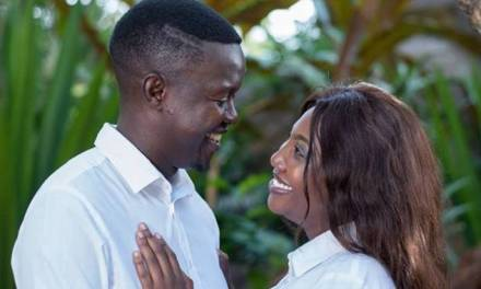 Comedian Doc Vikela ties the knot