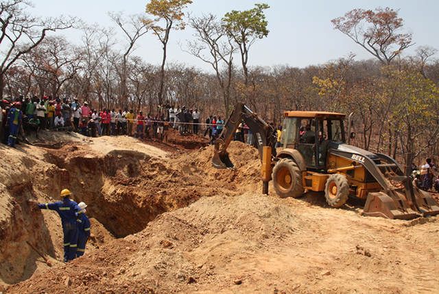 CPU steps up efforts to find 23 artisanal miners traped in flooded mine