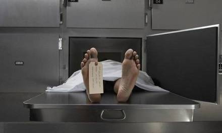 Body stuck as cremation divides family