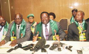 Zanu-PF War Veterans tell MDC to dump young, immature Chamisa ahead of elective congress