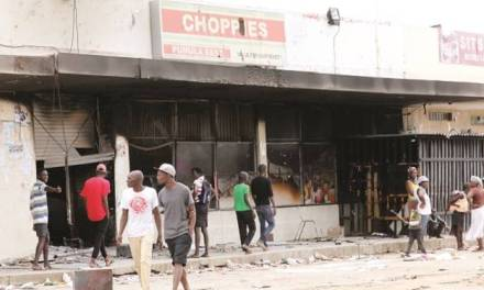 Looted shops get recovery funds