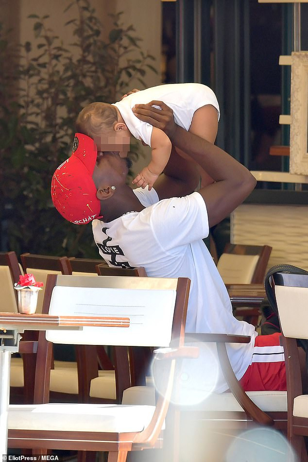 POGBA WITH BABY MAMA: PICTURES