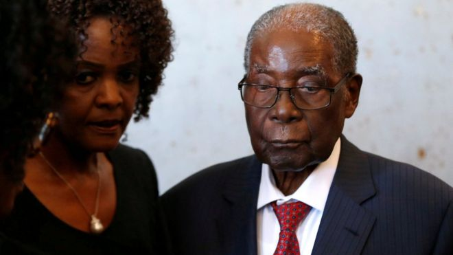 Grace and Mugabe