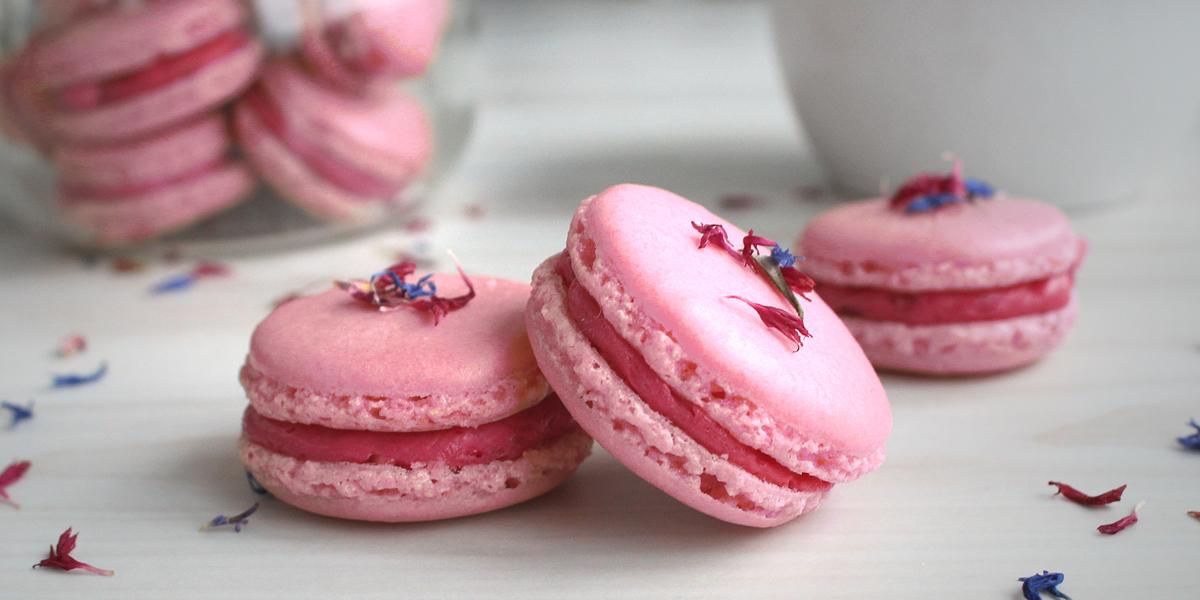 Himbeer- Macarons