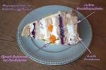 Pfirsich-Brombeer Torte