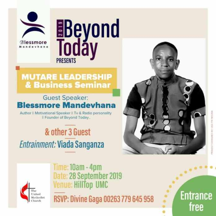 Mutare Youth Leadership and Business Seminar