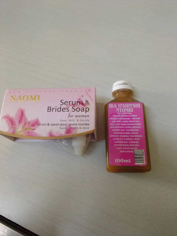 naomi soap and serum for virginity