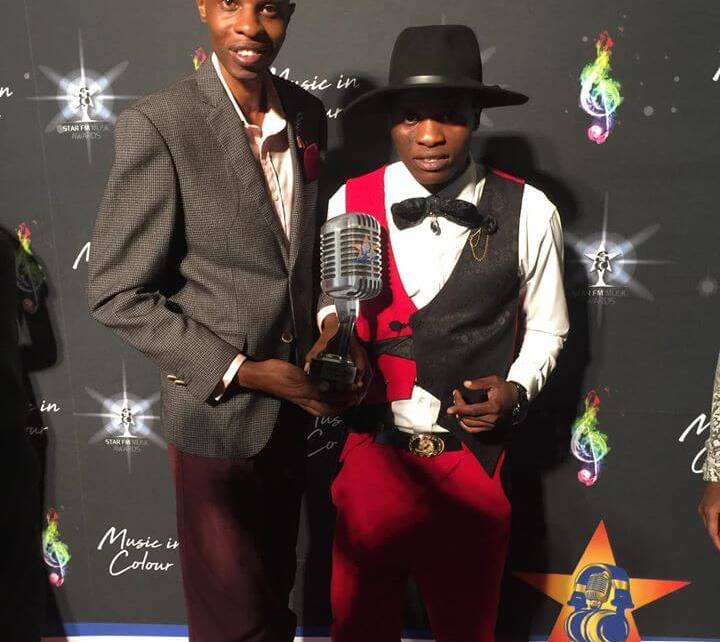 Ti Gonz at The Star FM Music Awards 2020