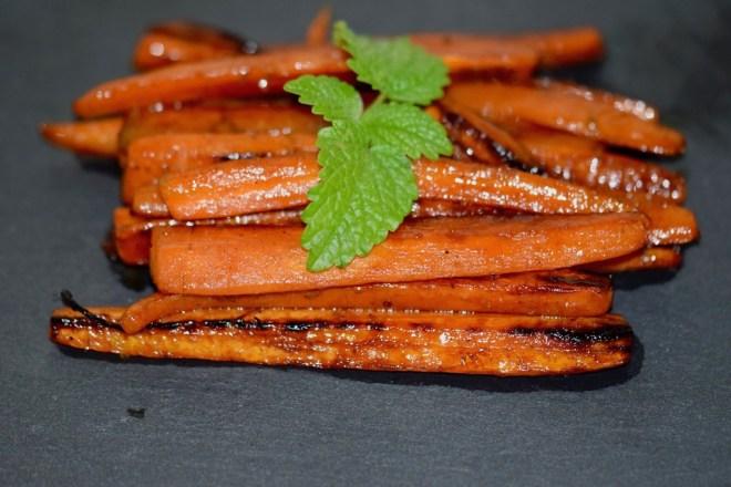 Rezepte: Beilagen: Karotten - karamellisiert