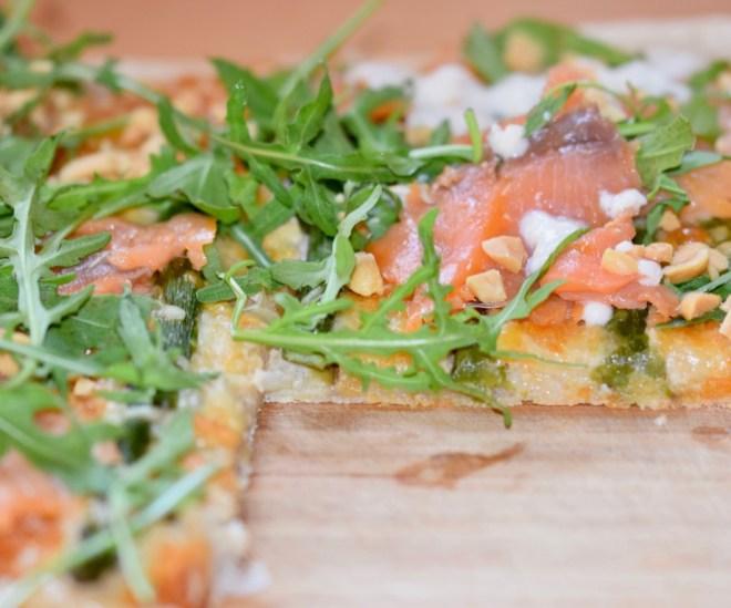 Rezepte: Sonstiges: Pizza Bianca mit glutenfreiem Pizzateig